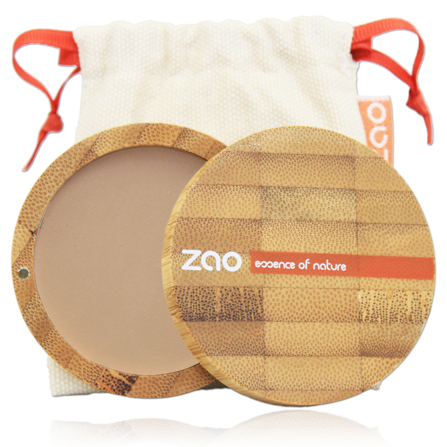 Doux Good - Zao make-up - poudre compacte - capuccino 304