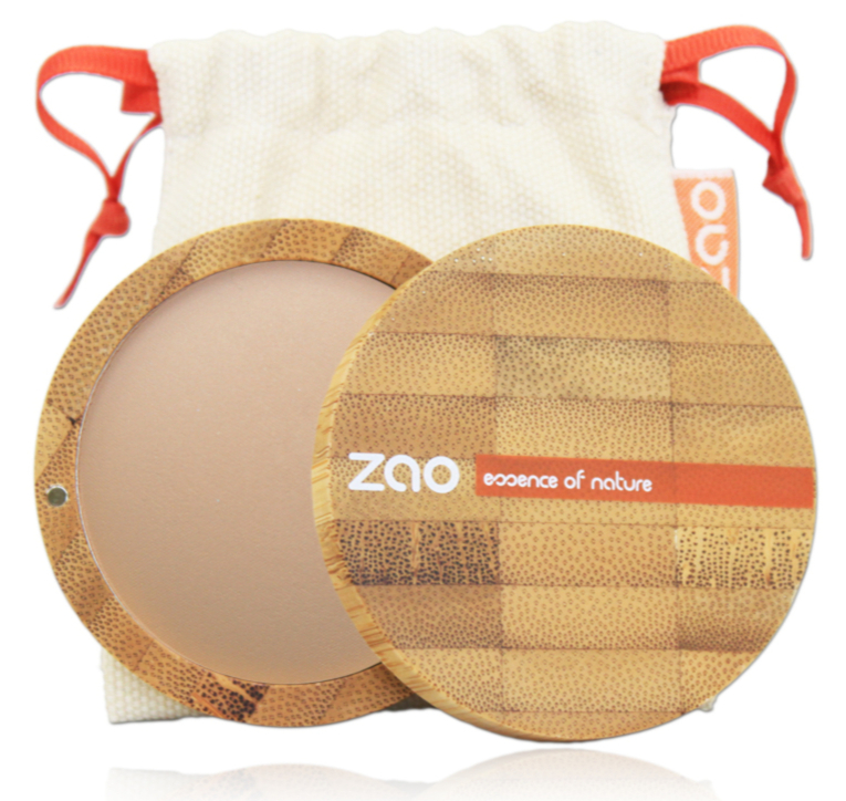 Doux Good - Zao make-up - terre cuite matifiante - effet bonne mine 346