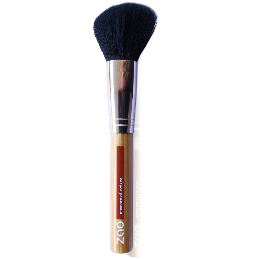Doux Good - Zao Make-up- pinceau maquillage - pinceau fard à joues biseauté 703