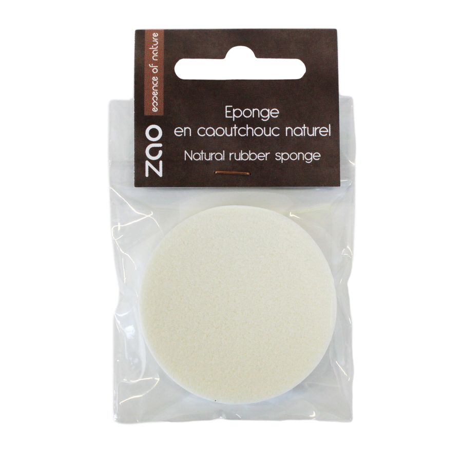 Doux Good - Zao make-up - accessoire maquillage - eponge en caoutchouc naturel 750