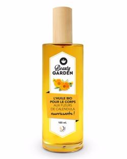 Doux Good - Beauty Garden - huile-corps-bio-calendula