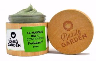 Doux Good - Beauty Garden - masque-hydratant-visage au concombre bio