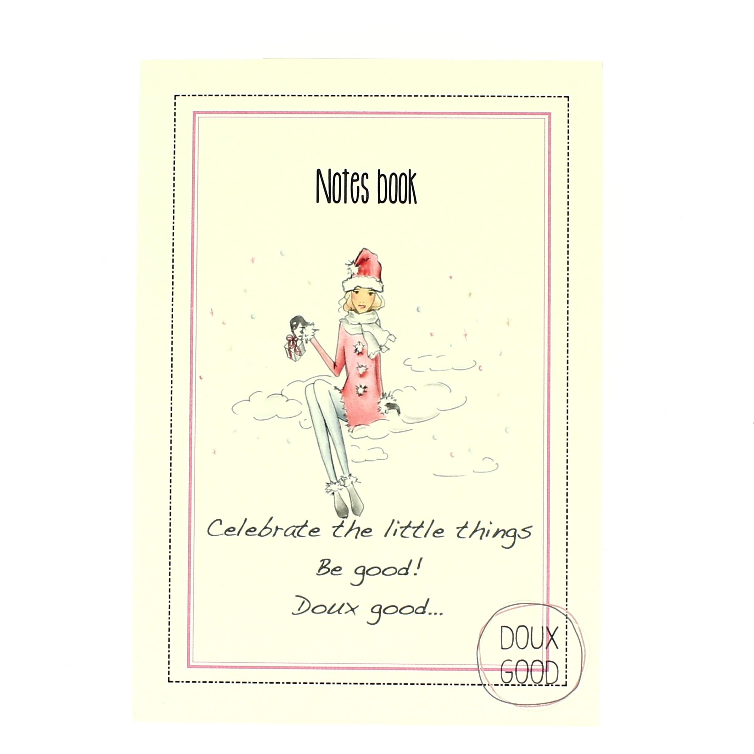 Notes book Doux Good - carnet pour souhaiter un Joyeux Noël