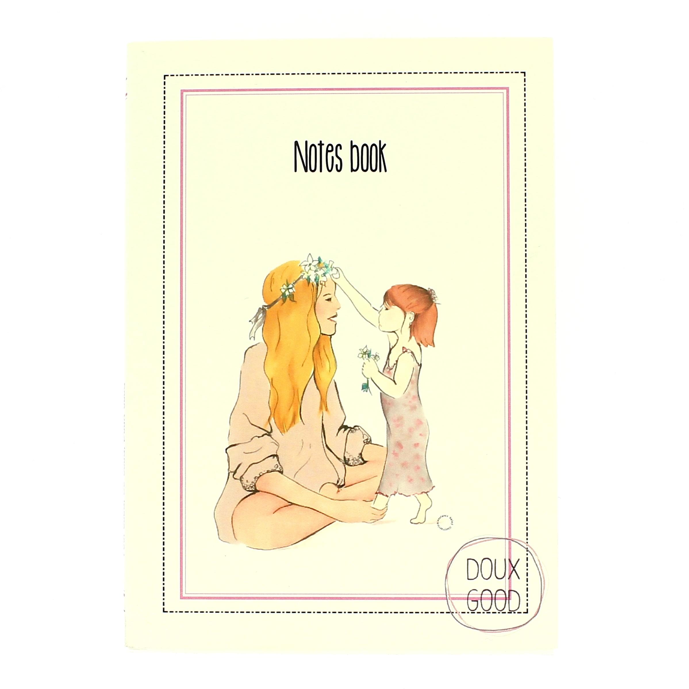 Notes book Doux Good - carnet pour la plus belle des mamans