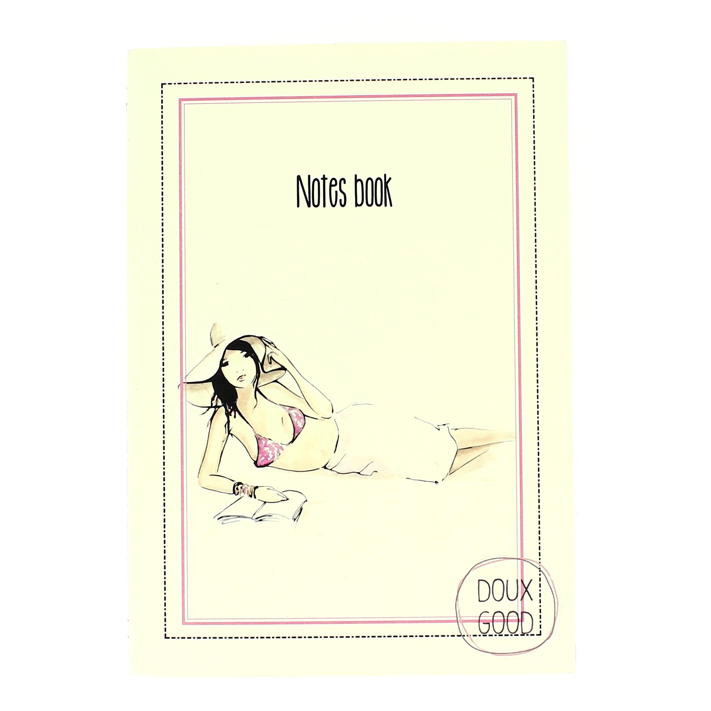 Notes book Doux Good - carnet détente à Palombagia