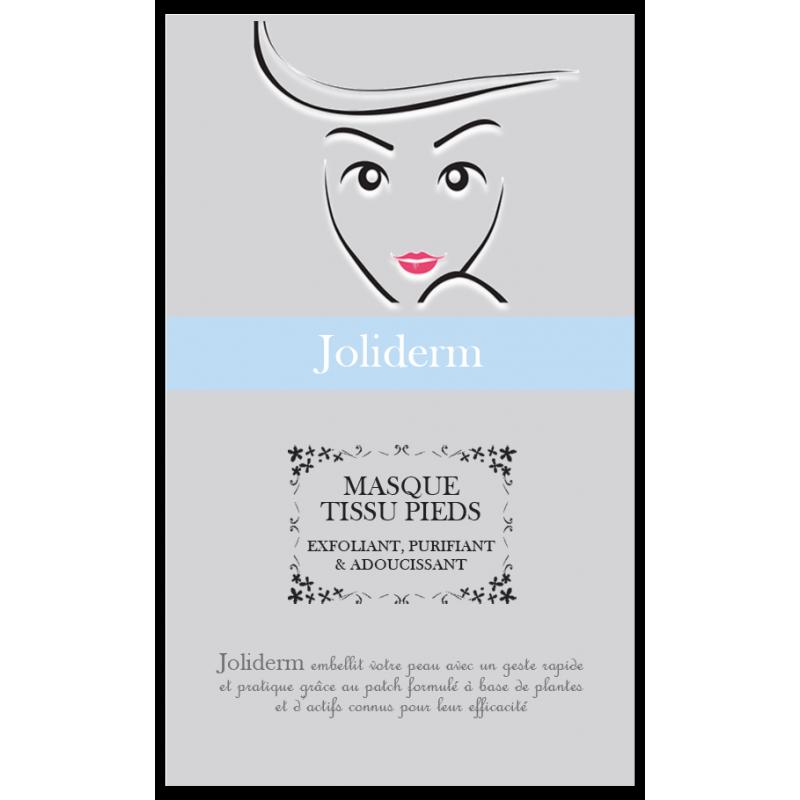 Doux Good-Joliderm-masque-tissu-pieds-exfoliant-purifiant-adoucissant