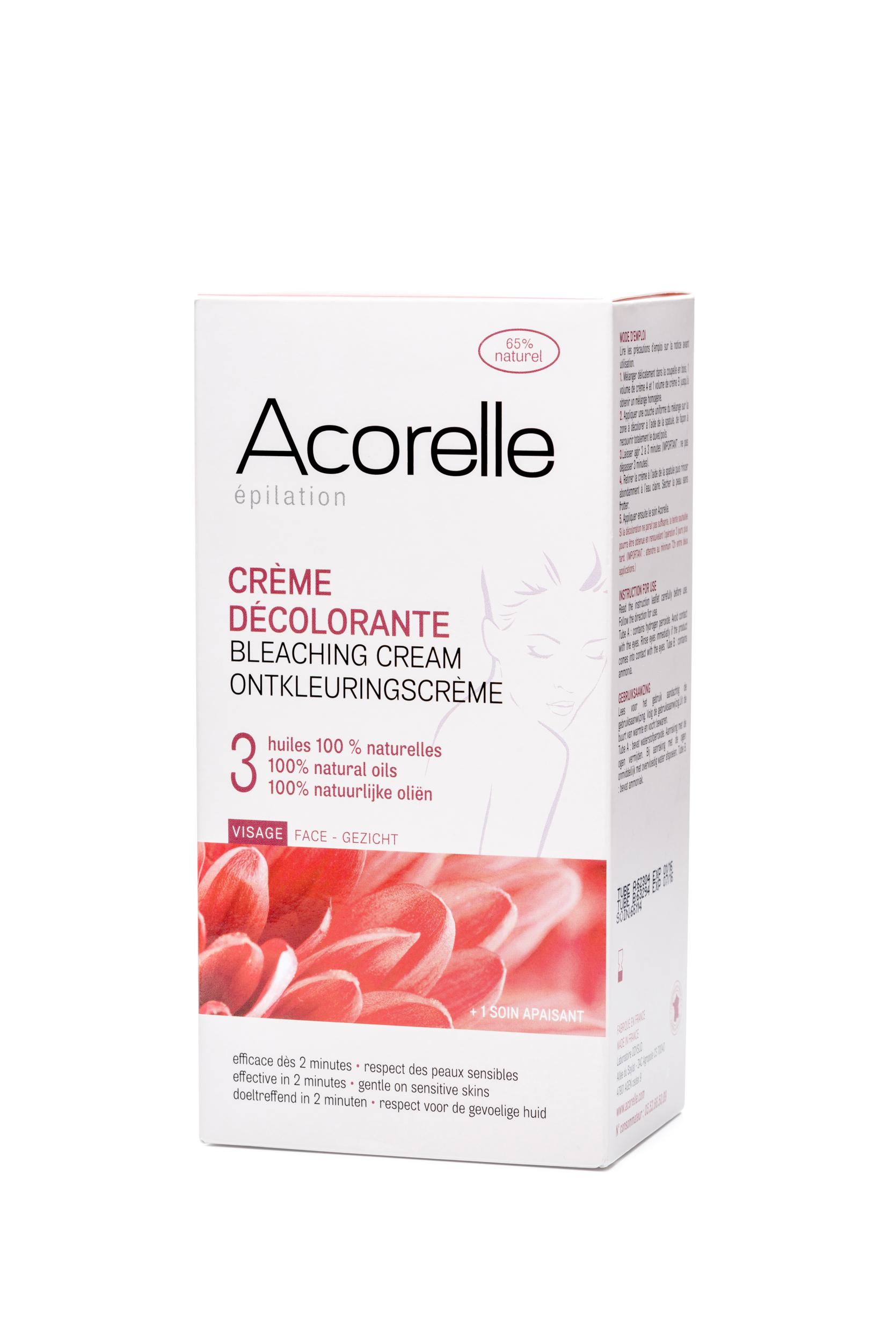 Doux Good - Acorelle - Crème Décolorante Visage