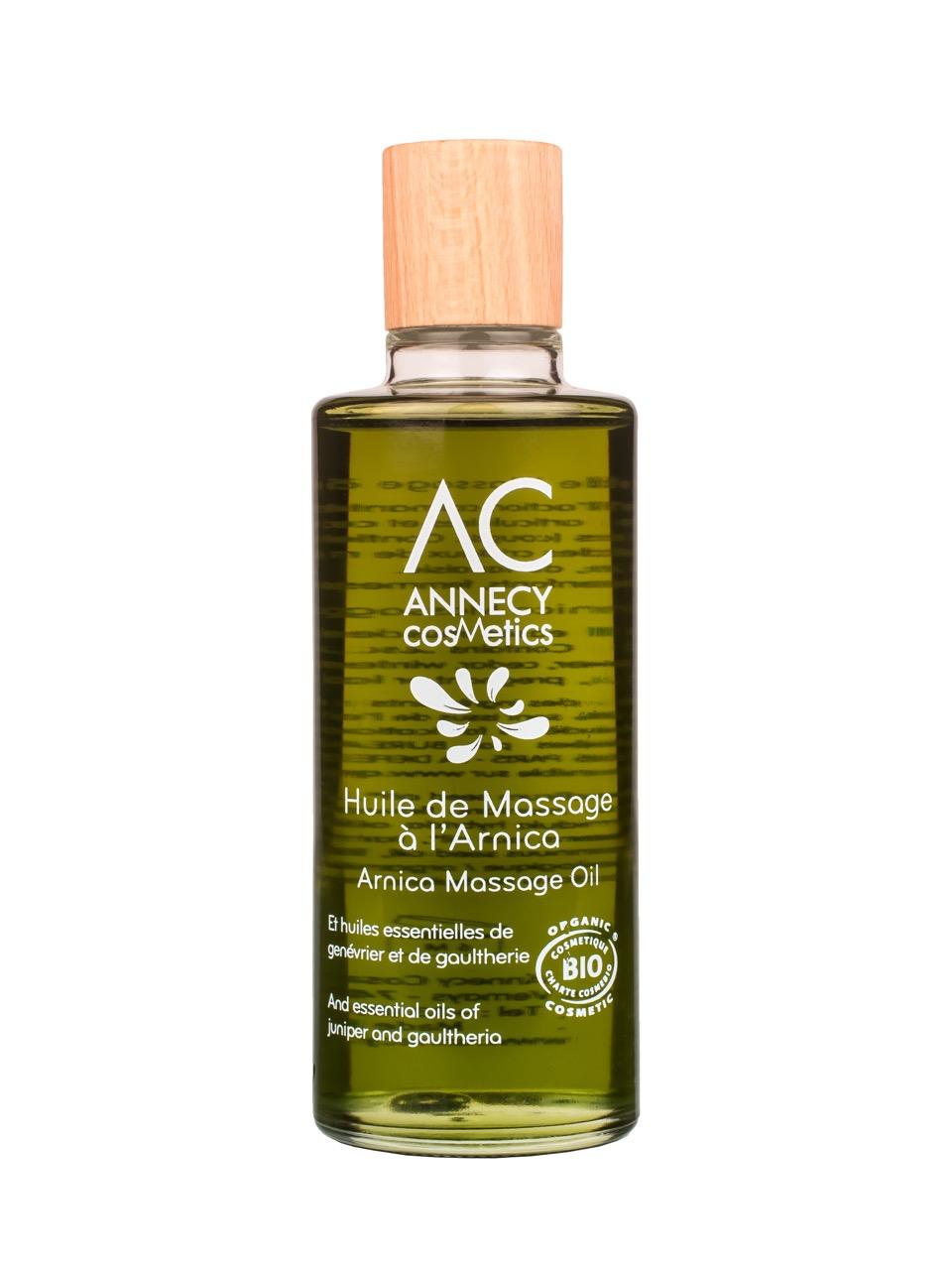 Doux Good - Annecy Cosmetics - Huile massage à l'arnica bio
