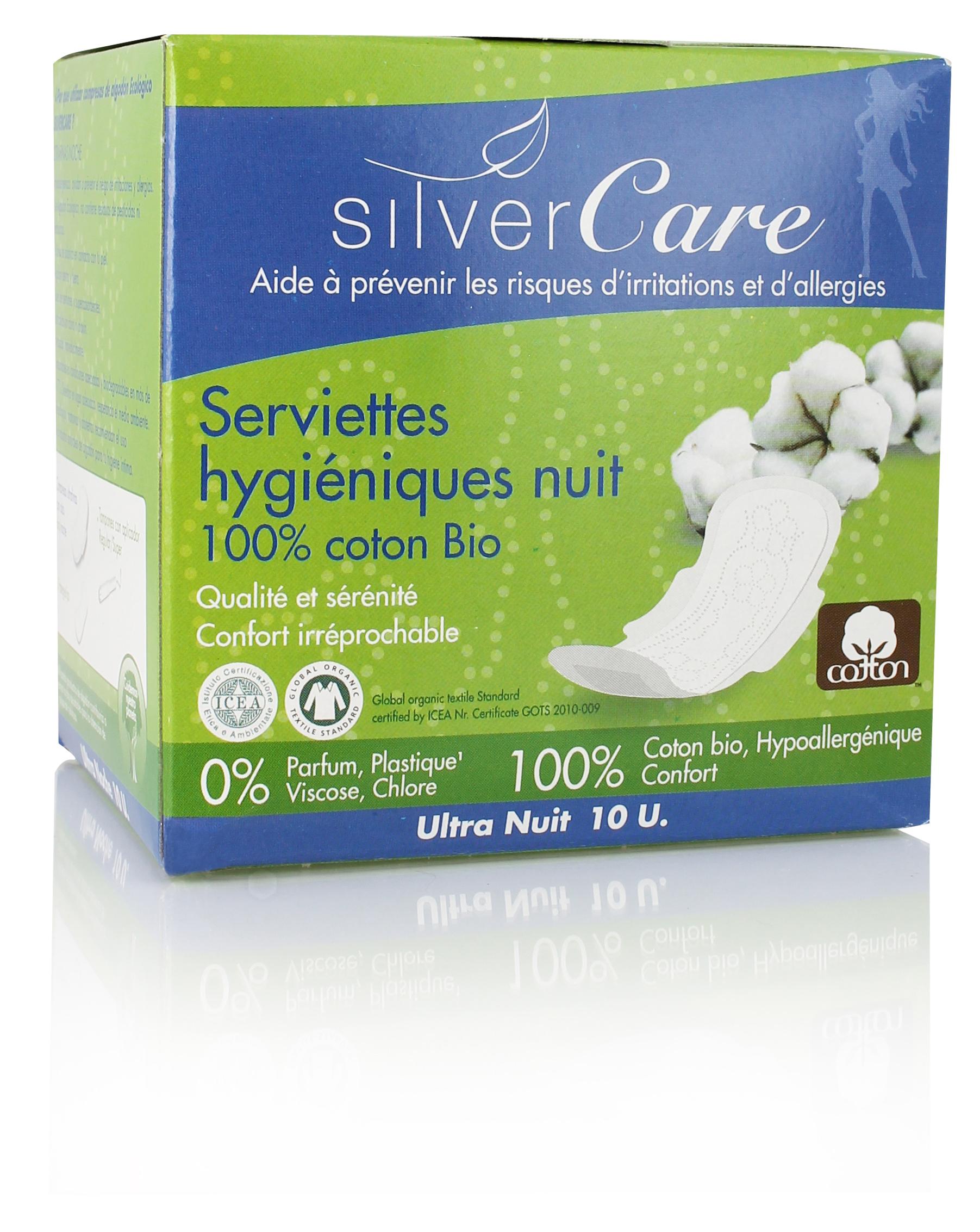 Doux Good - Silvercare - serviette hygiénique bio-nuit