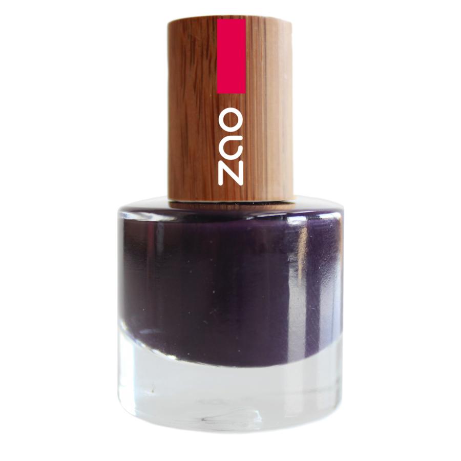 Doux Good - Zao MakeUp - vernis à ongles Prune 651