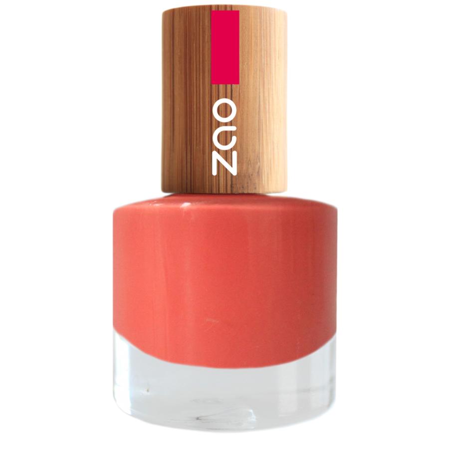 Doux Good - Zao MakeUp - Vernis à ongles Corail 656