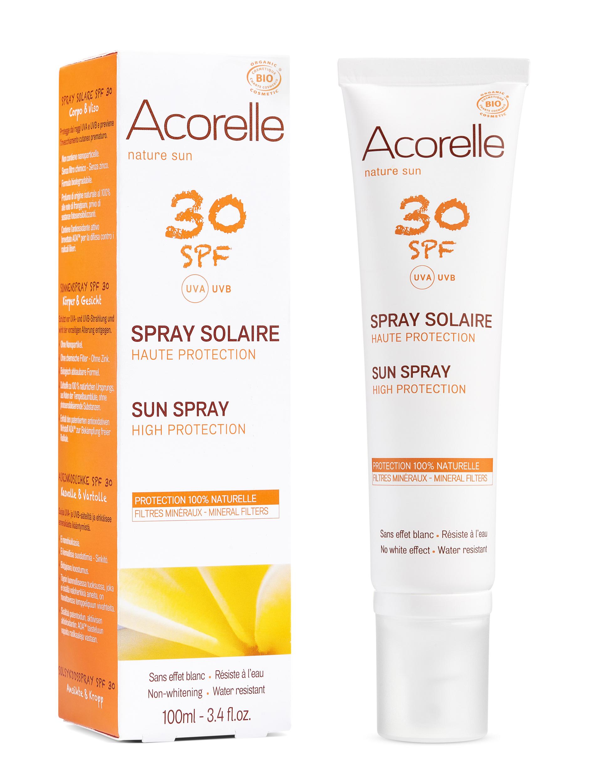 Doux Good - Acorelle-SpraySolaire-30SPF