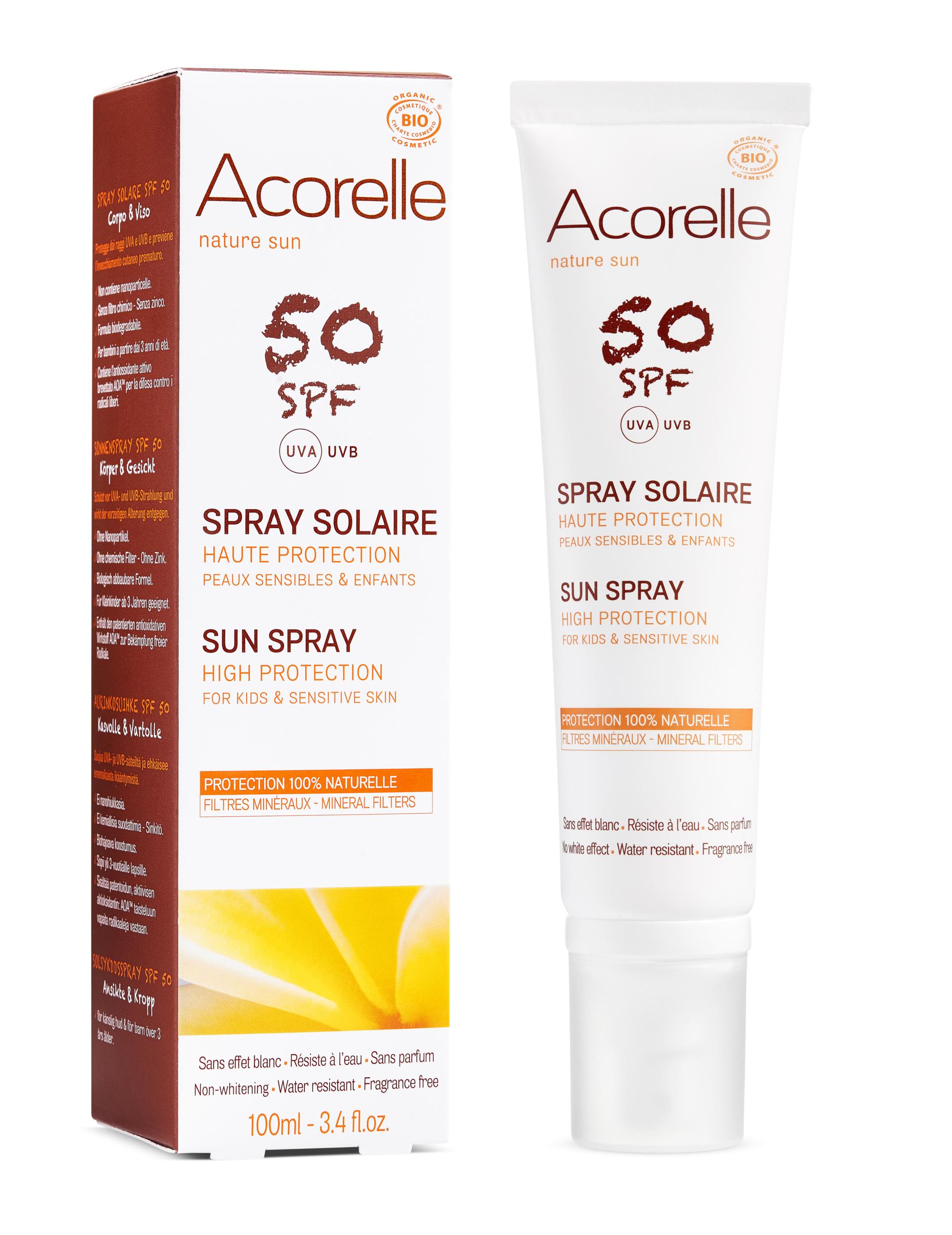 Doux Good - Acorelle-SpraySolaire-50SPF