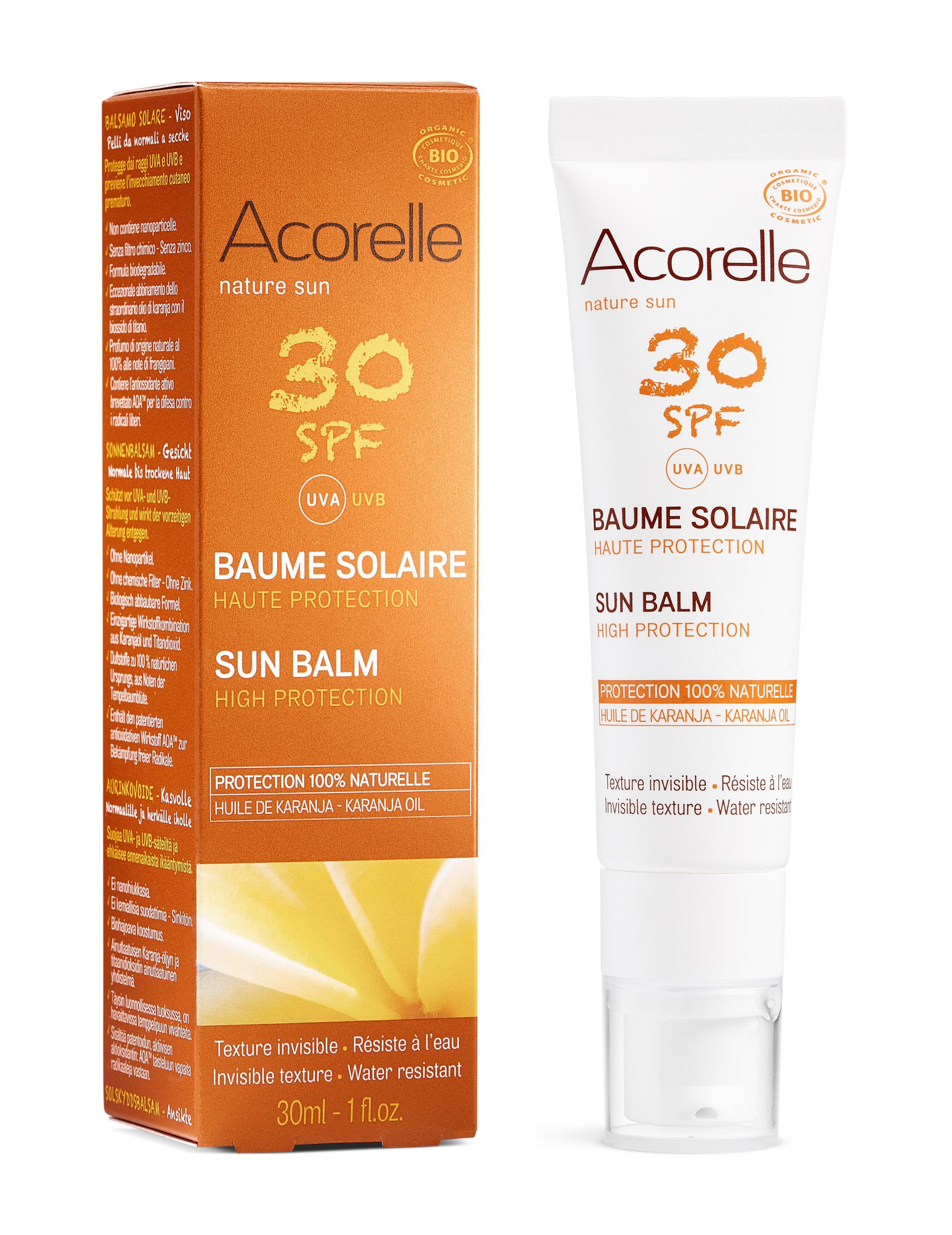 Doux Good - Acorelle-Baume solaire-30SPF