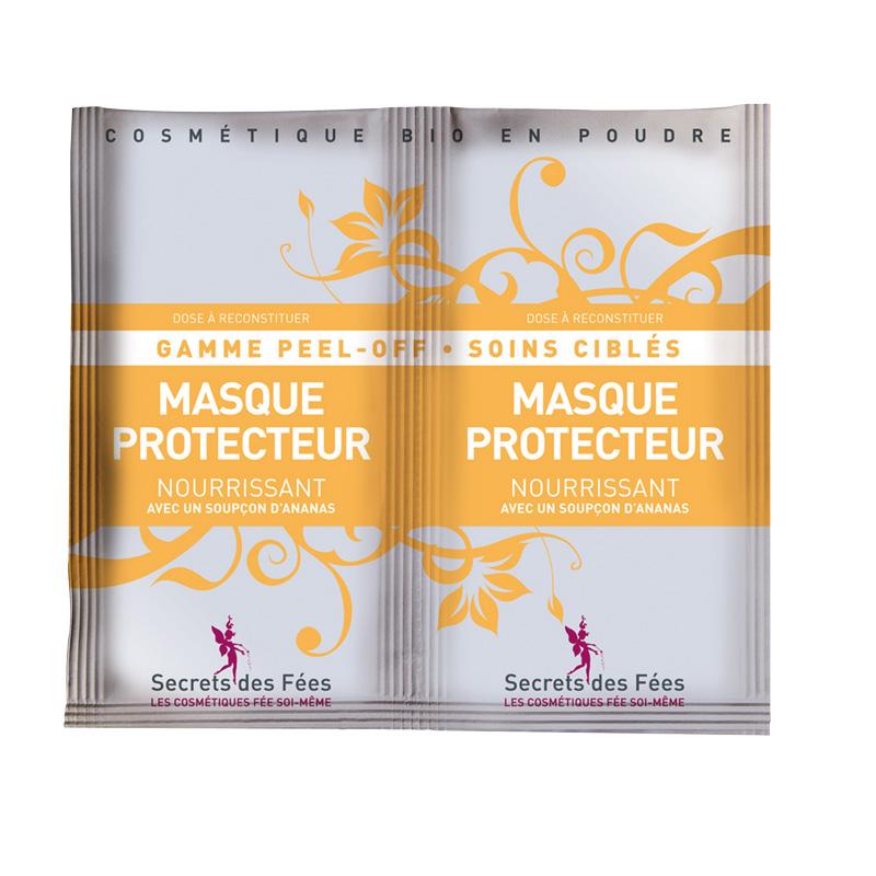 DouxGood - Secrets des fées - Masque Peel Off - protecteur-nourrissant