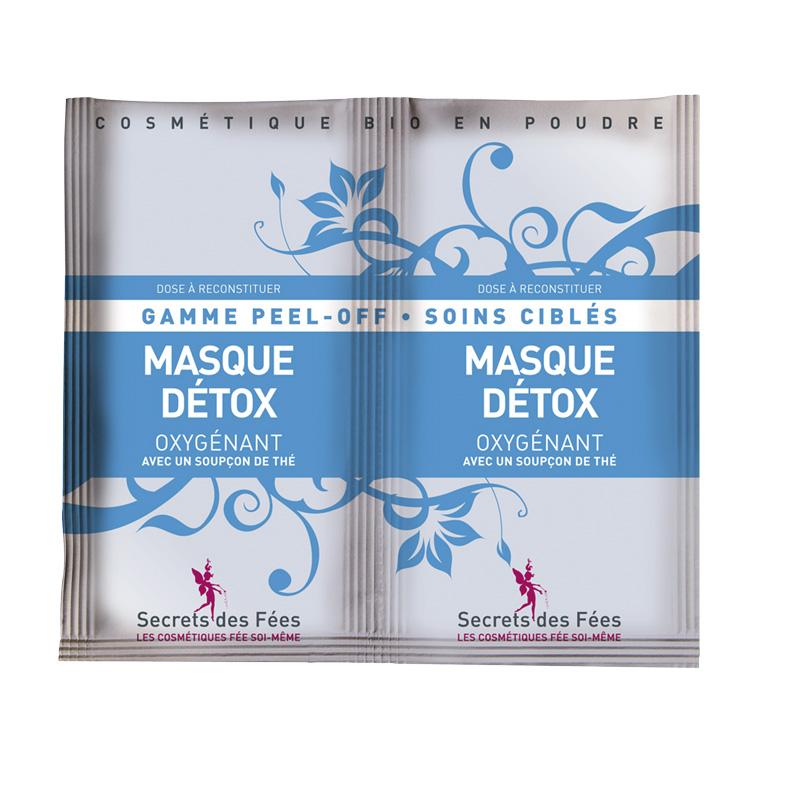 Doux Good - Secrets des fées - masque Peel Off - détox oxygenant