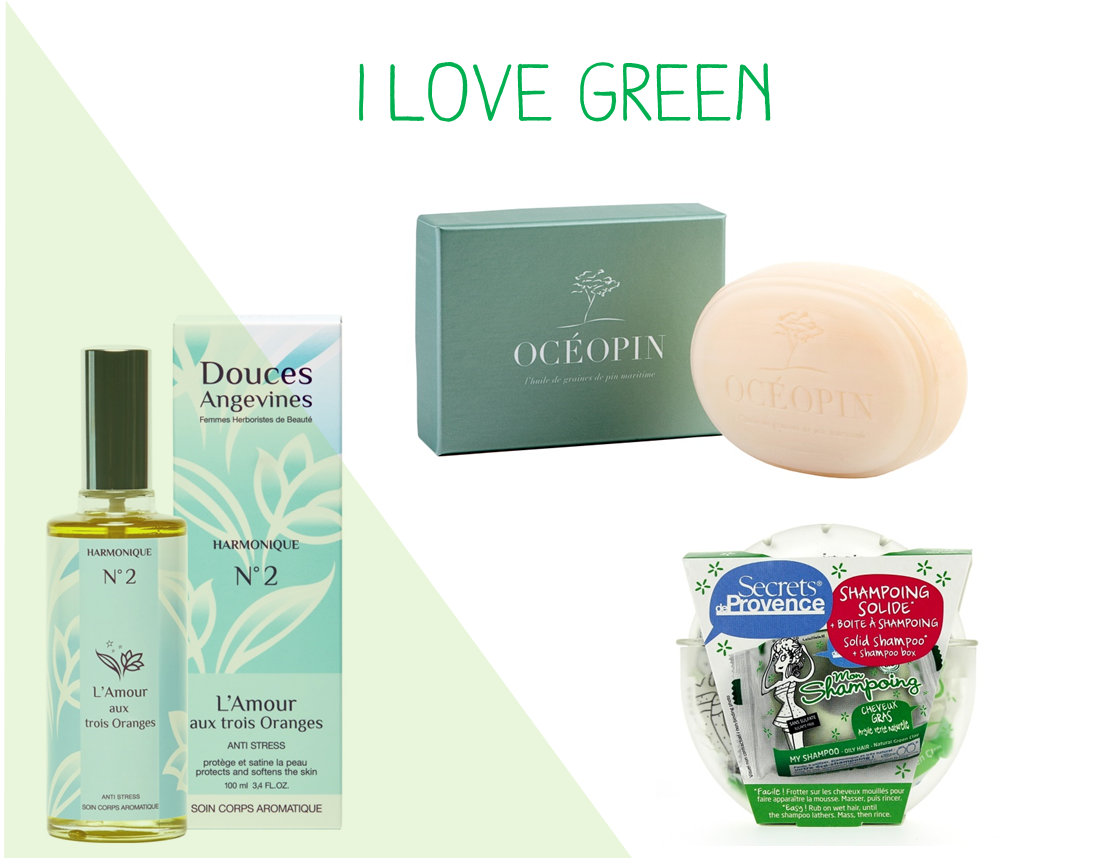 vanity Doux Good - I love green