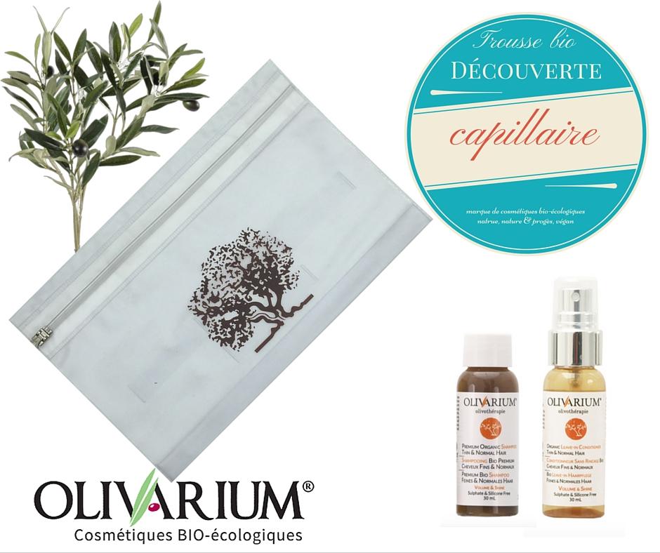 Trousse bio capillaire - Olivarium