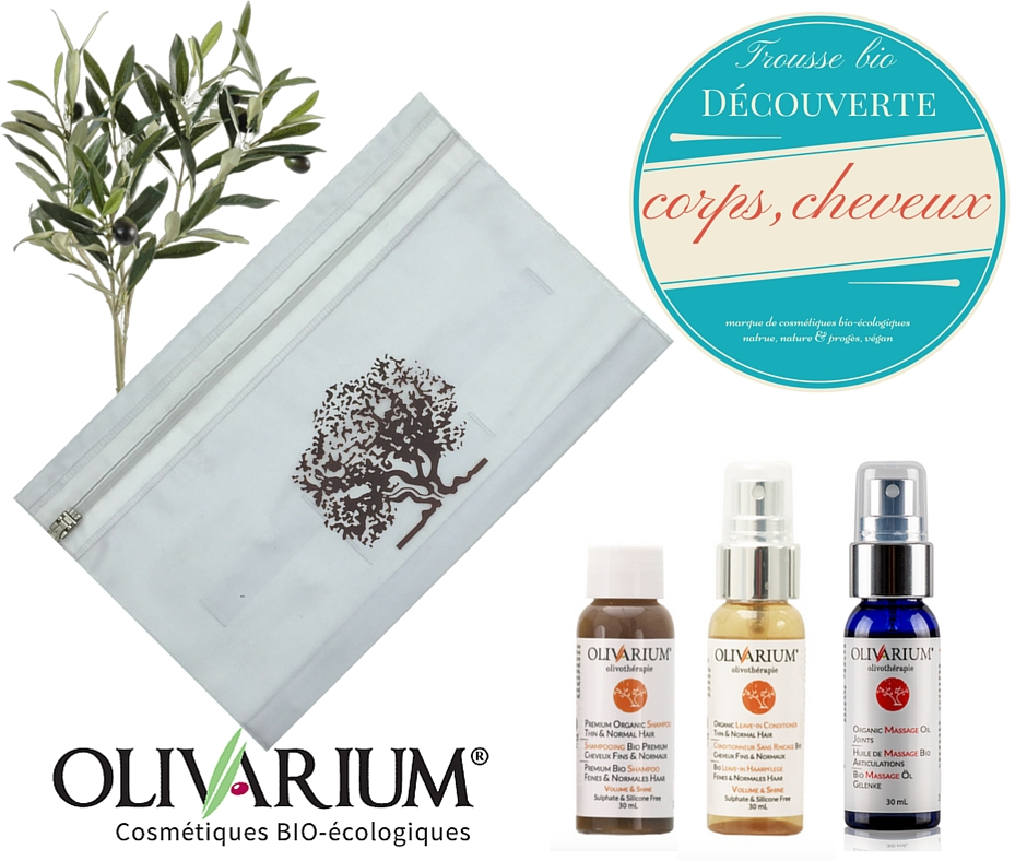 Trousse bio corps & cheveux - Olivarium