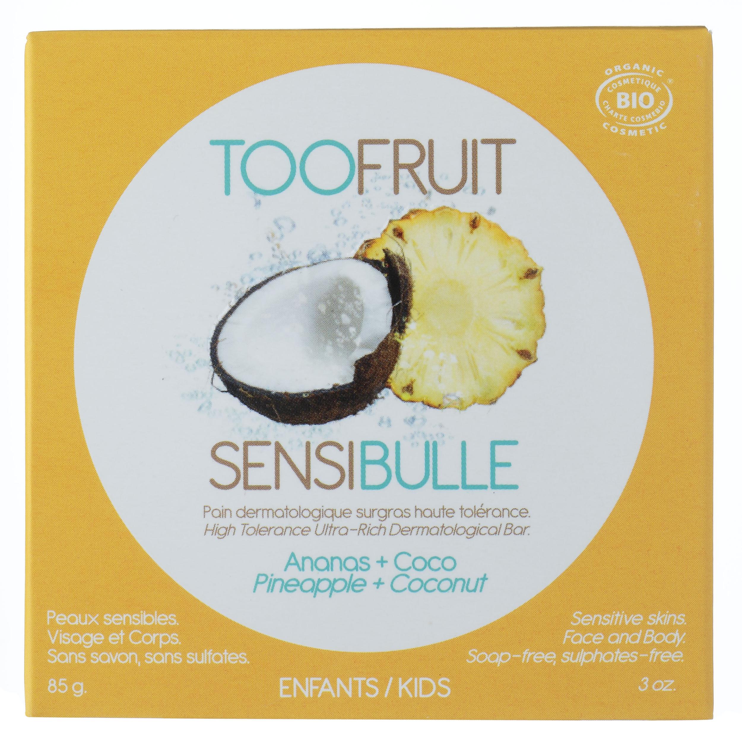 Doux Good - Toofruit sensi pain ananas coco etui savon