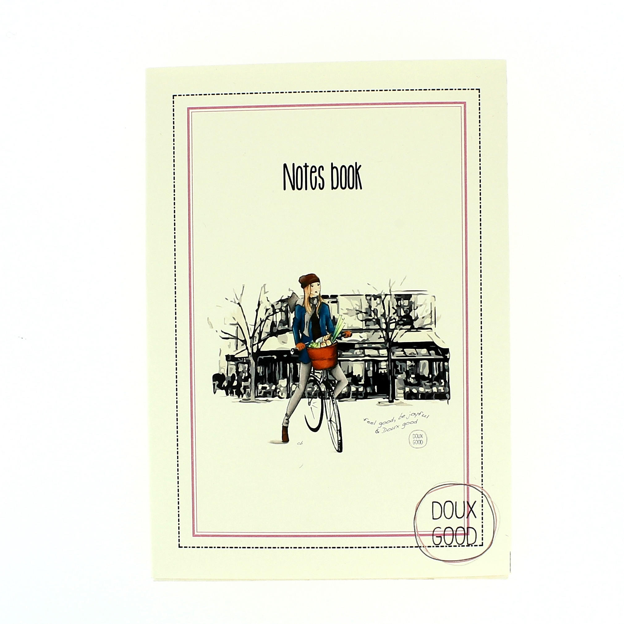 Carnet Doux Good - Notes book - I love Paris