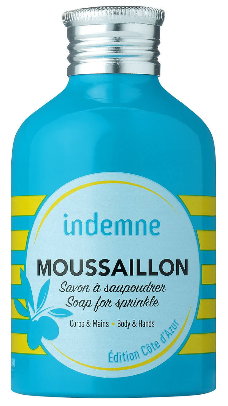 indemne- savon à saupoudrer Mousaillon