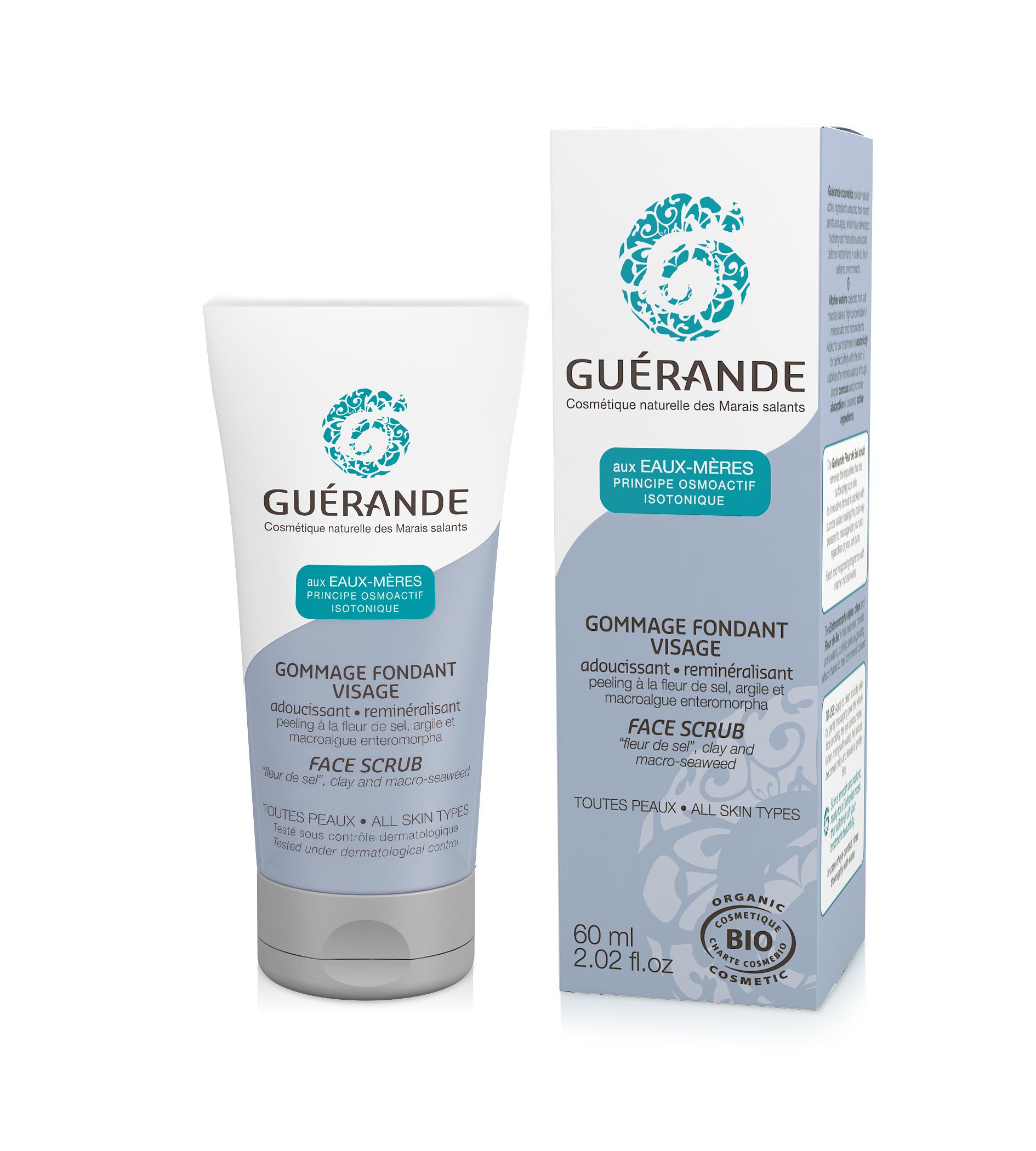 Guérande-Gommage fondant visage