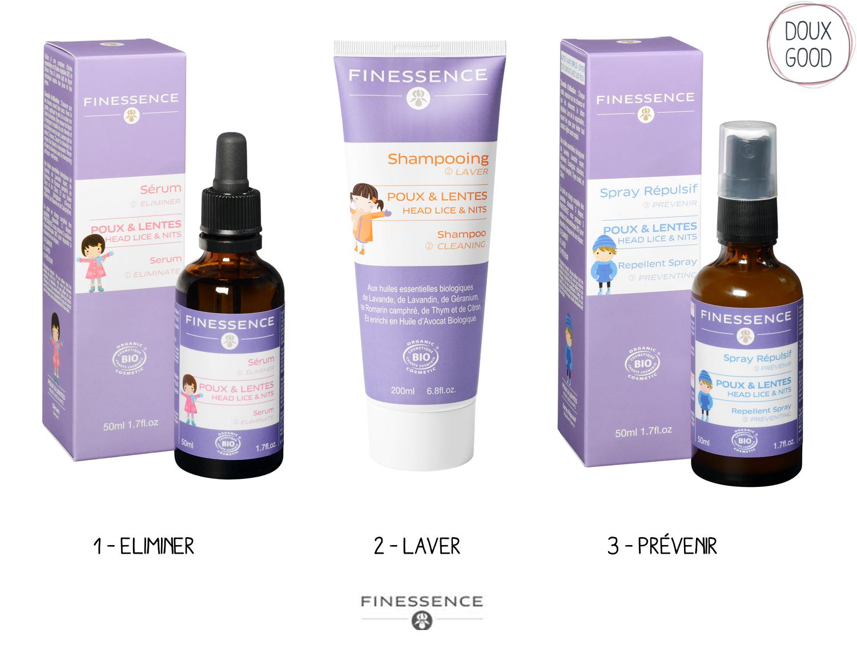 Finessence - Traitement anti-poux sur Doux Good