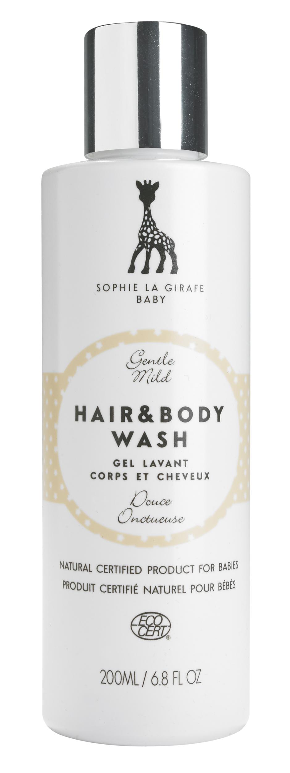 Sophie la girafe Baby - gel lavant corps et cheveux