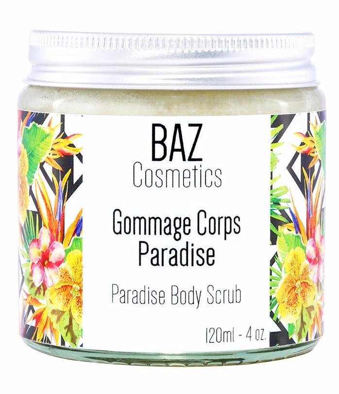 Doux Good - BAZ Cosmetics - gommage corps paradise