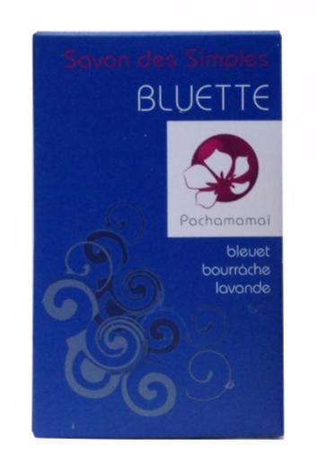 pachamamaï -Bluette - savon naturel vegan anti-acne et peau grasse