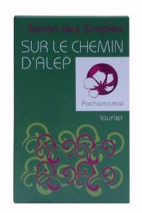 pachamamai - Sur le chemin d'Alep- savon naturel bio anti-psioriasis et peau atopique