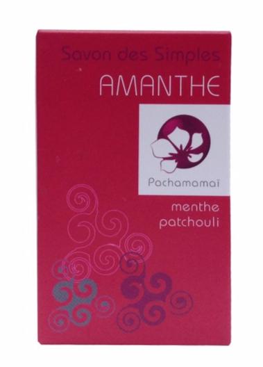 Pachamamai - Amanthe - savon naturel bio peau normale à mixte