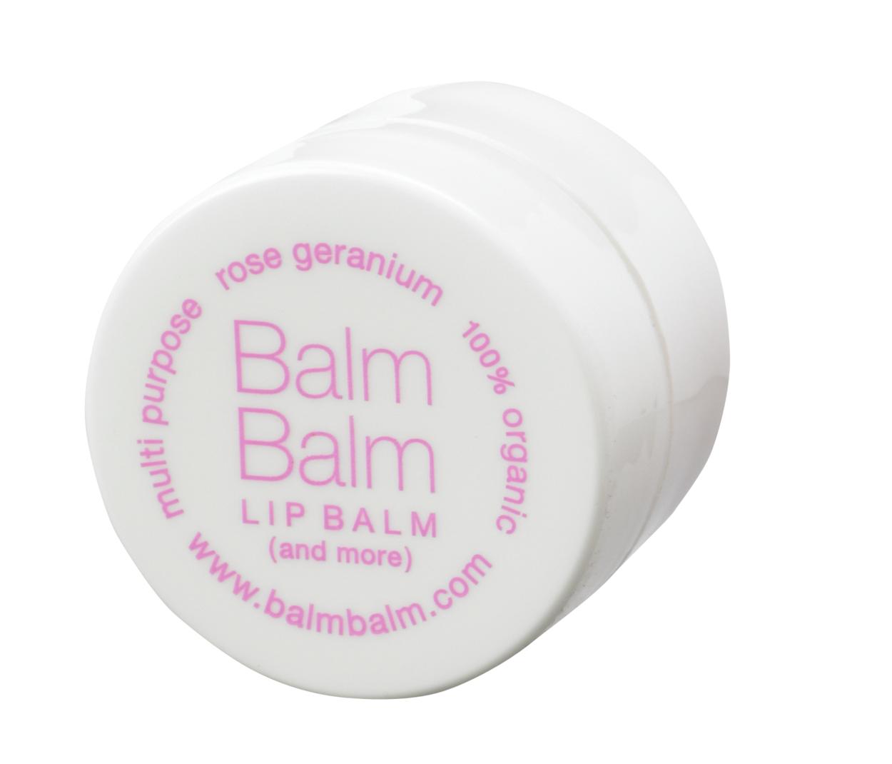 Balm Balm - Baume lèvres en pot - Géranium rosat