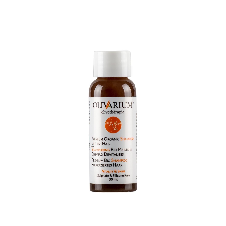 Olivarium - shampoing cheveux dévitalisés et clairsemés - 30 ml