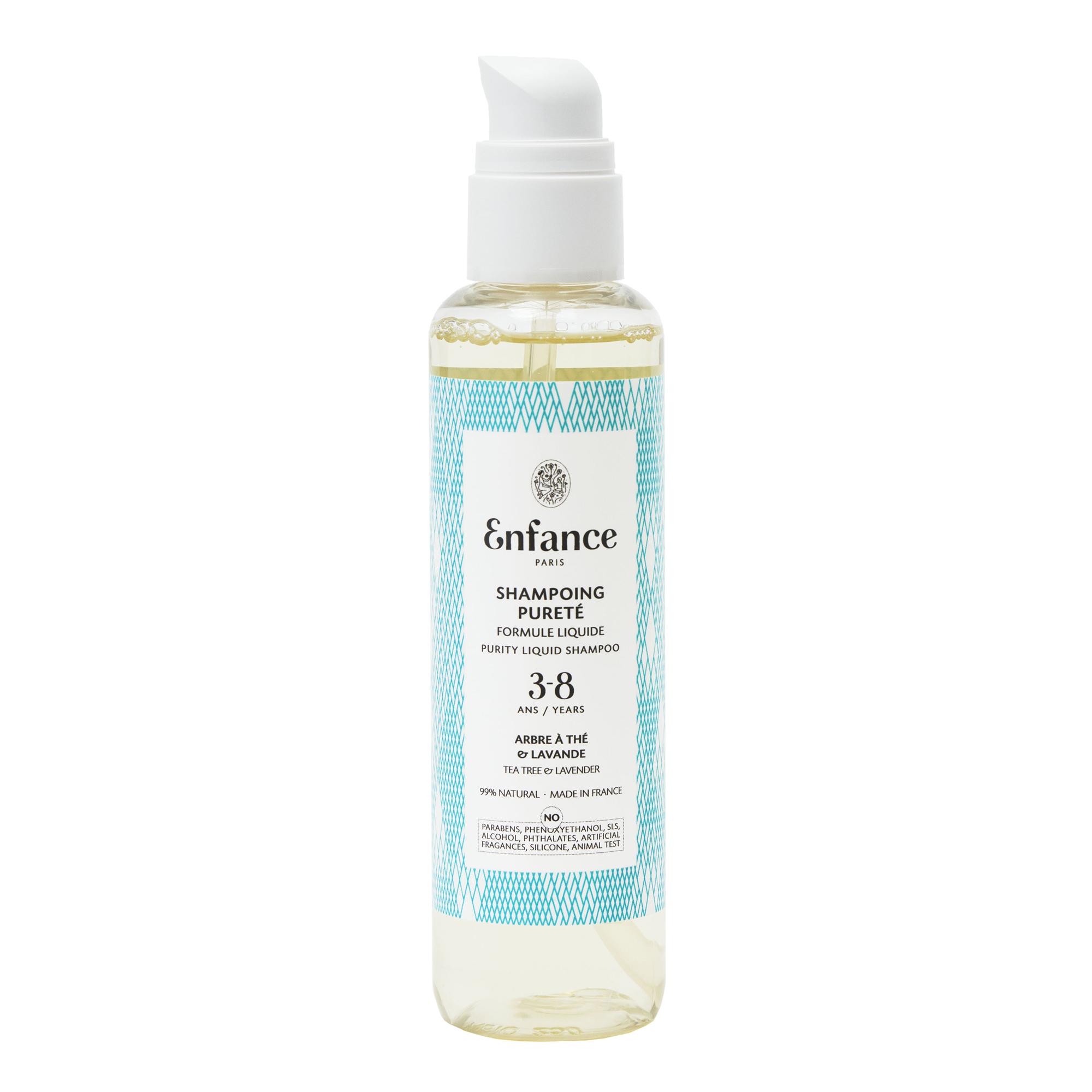 Enfance Paris - shampoing pureté - enfant 3-8 ans