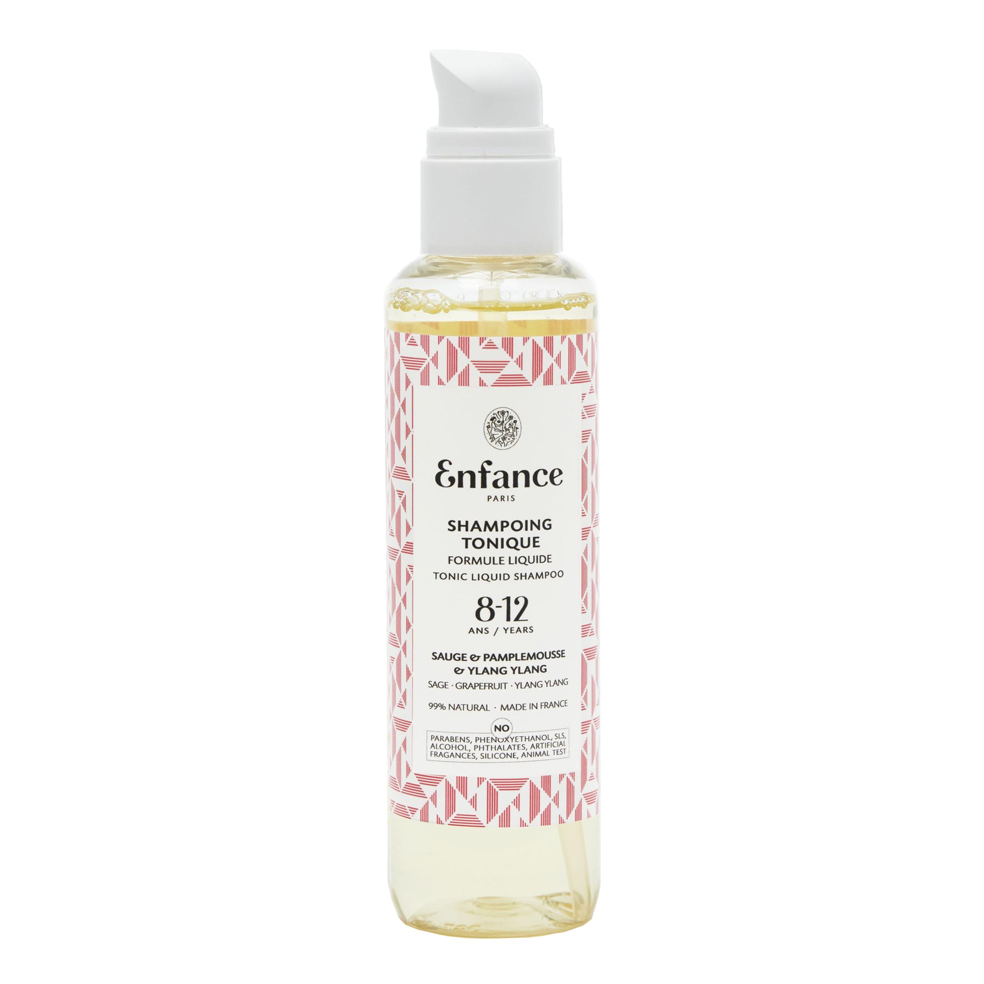 Enfance Paris - shampoing tonique - Enfant et ado 8-12 ans