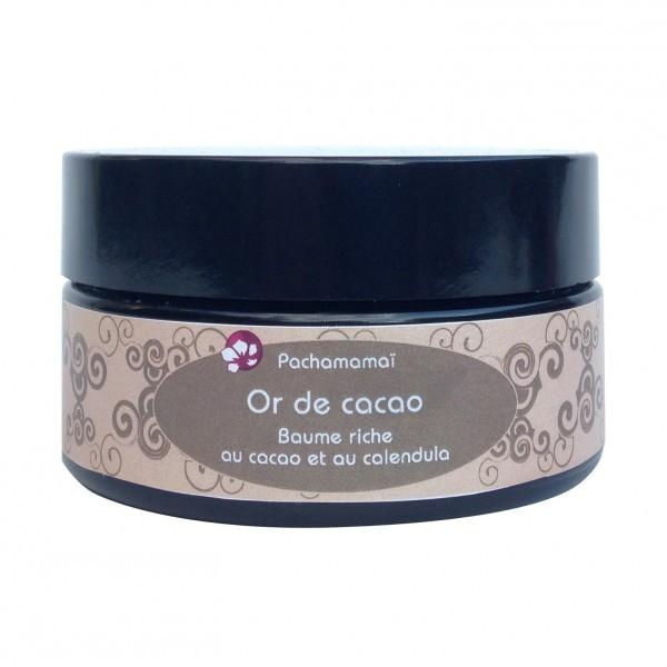 Pachamamaï -or de cacao - baume-riche-pour-le-corps