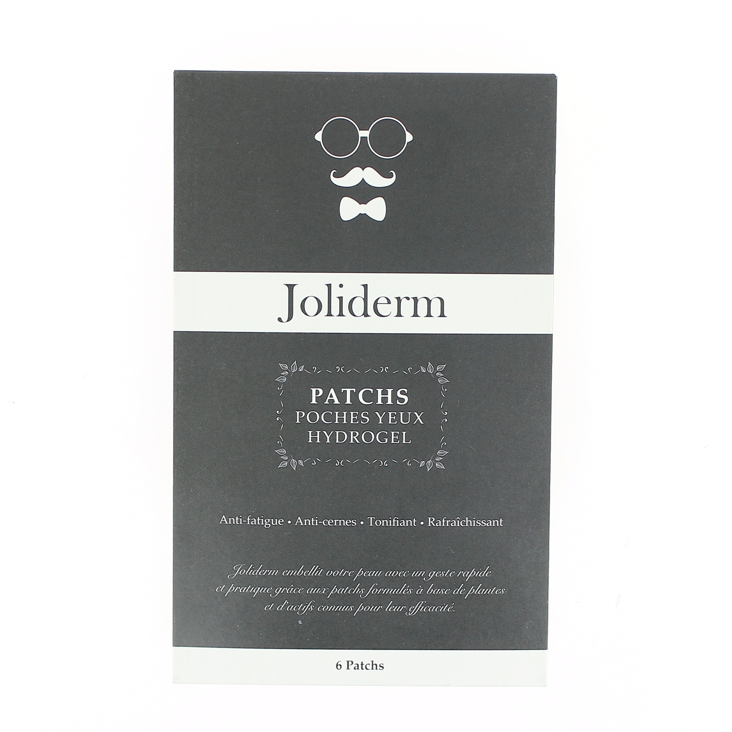 Doux Good - Joliderm- patch poches yeux hydrogel Homme