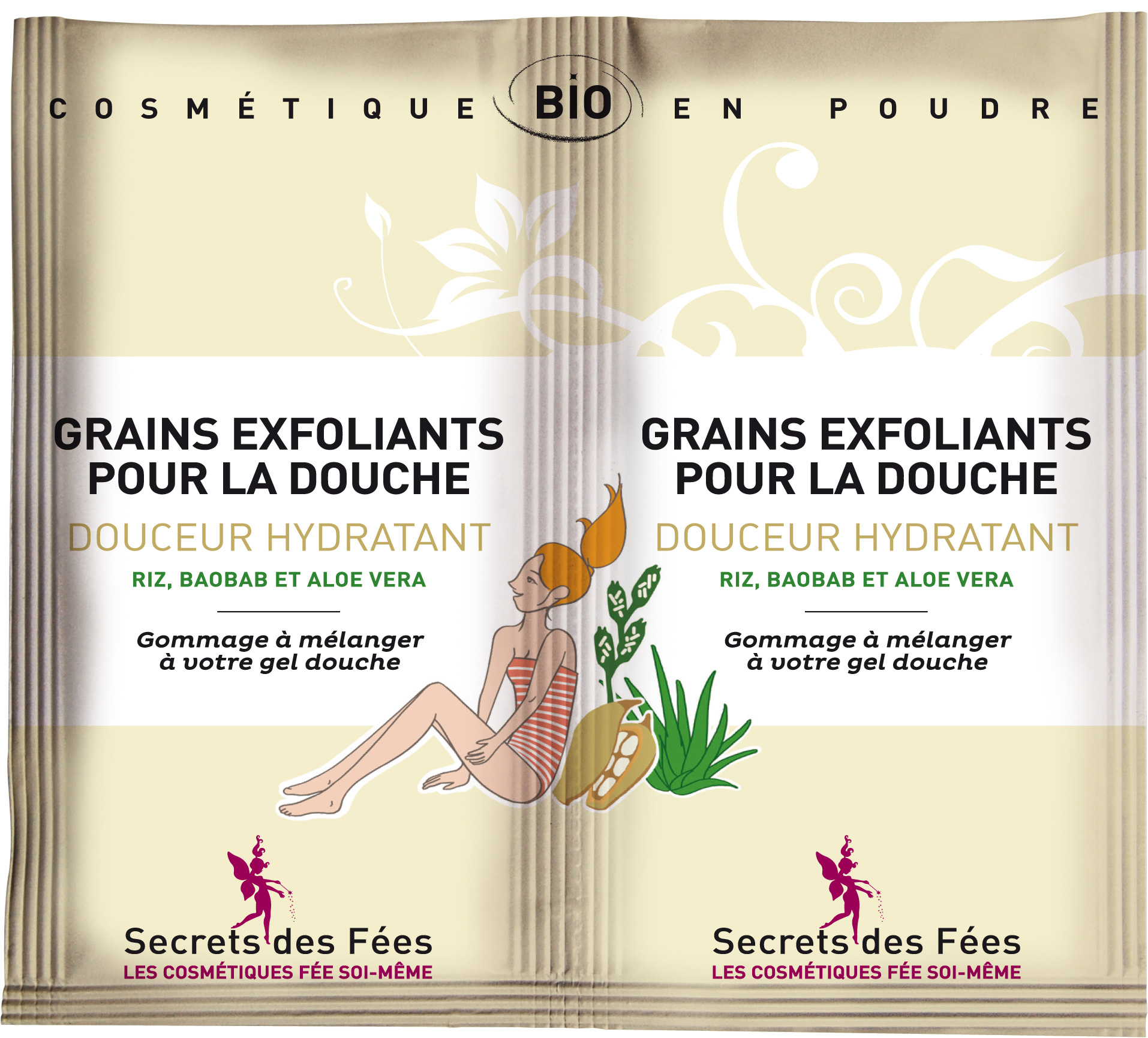Secrets des Fées - grains-exfoliants-douceur-hydratant