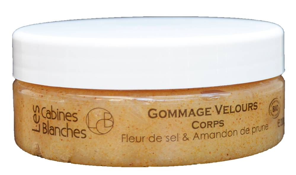 Les cabines Blanches - Gommage Velours Corps