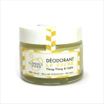 Clémence et Vivien - Déodorant baume - Le sucré