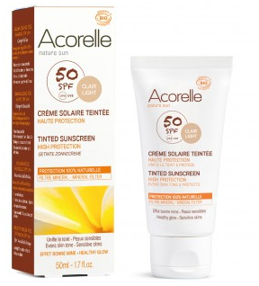Acorelle-crème-solaire-teintée-clai-SPF50