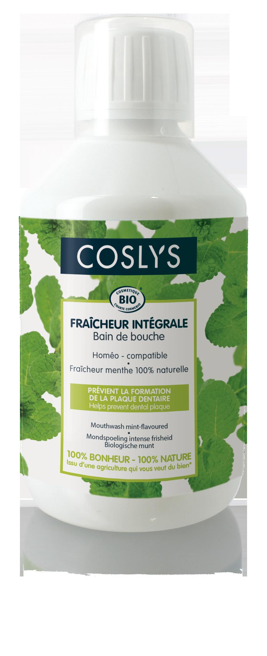 Coslys - Fraîcheur intégrale - bain de bouche
