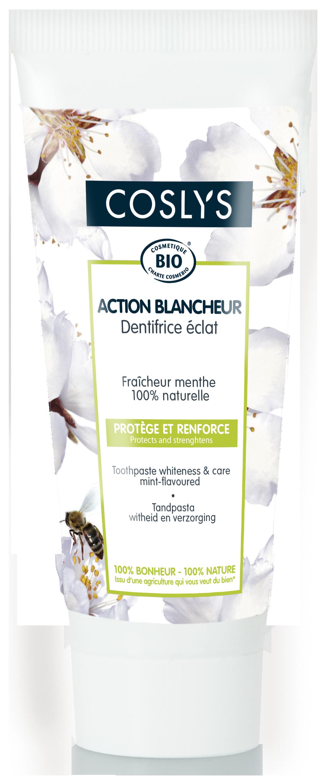 Coslys- action blancheur-dentifrice éclat