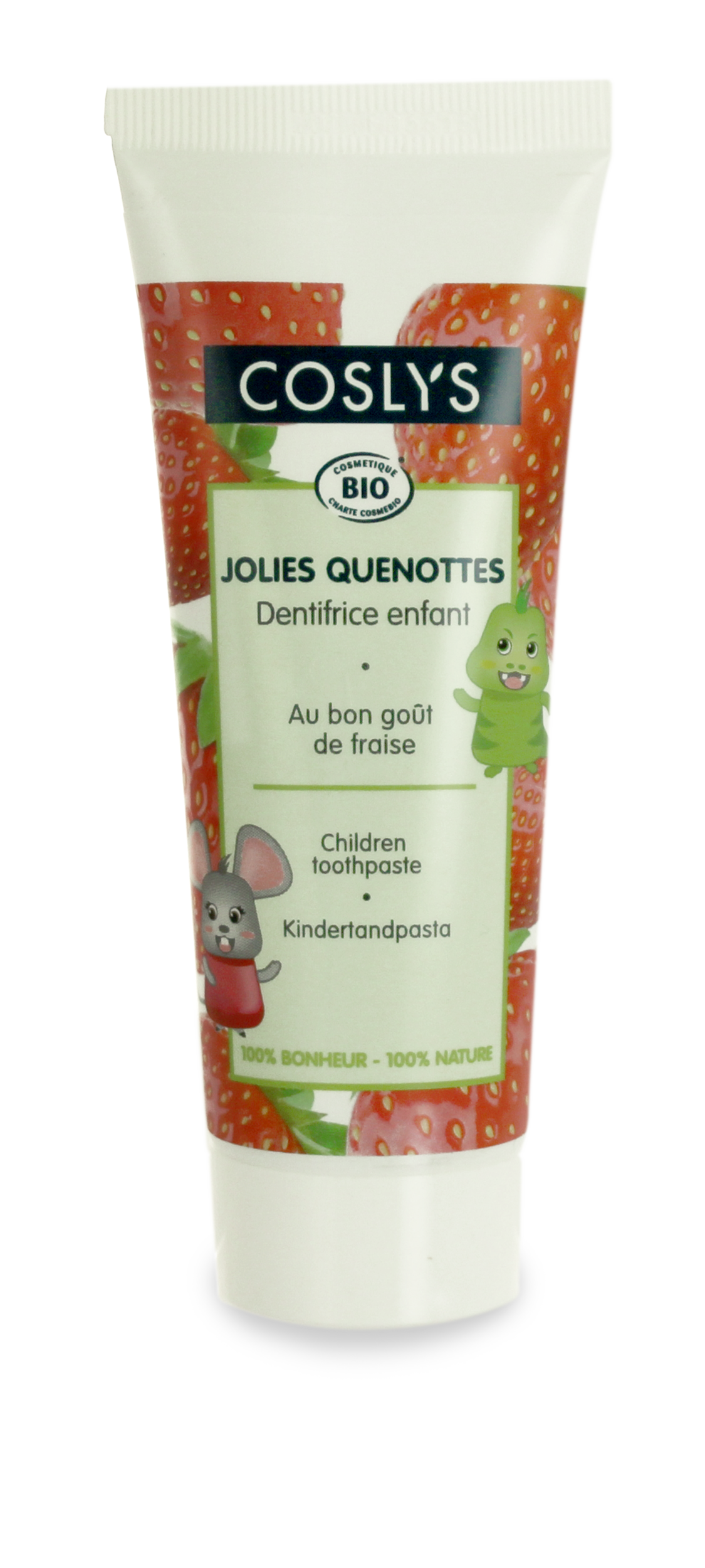 Coslys - Jolies quenottes -dentifrice enfant-75ml