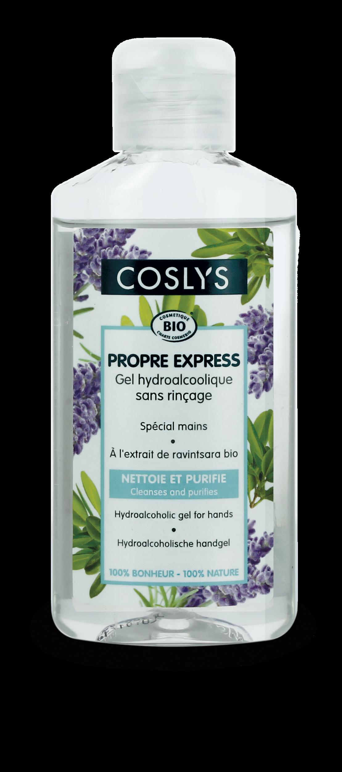 Coslys-gel hydroalcoolique-100ml