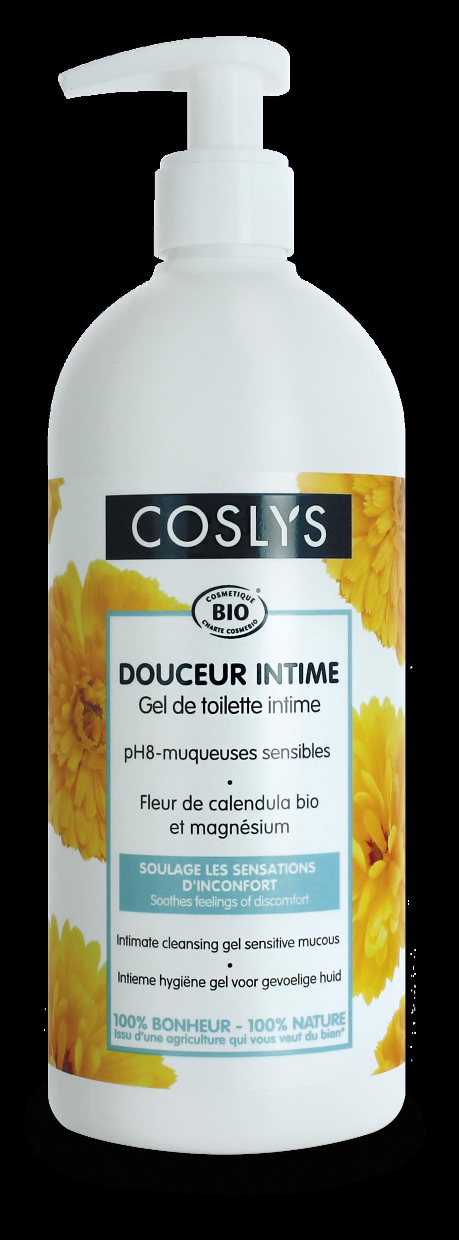 Coslys - Gel toilette intime ph8 muqueuses sensibles 500ml