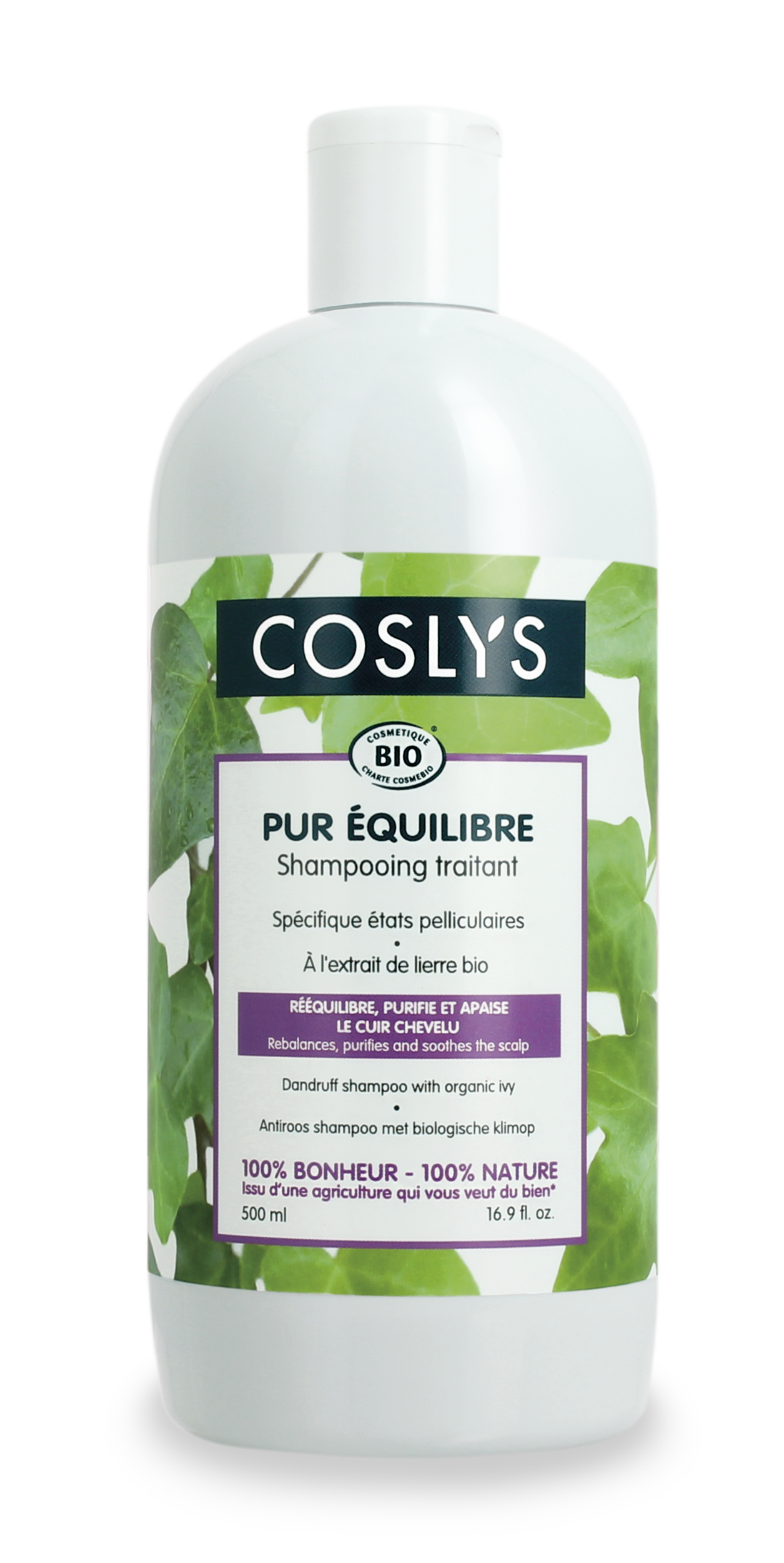 Coslys-Shampoing antipelliculaires 500ml