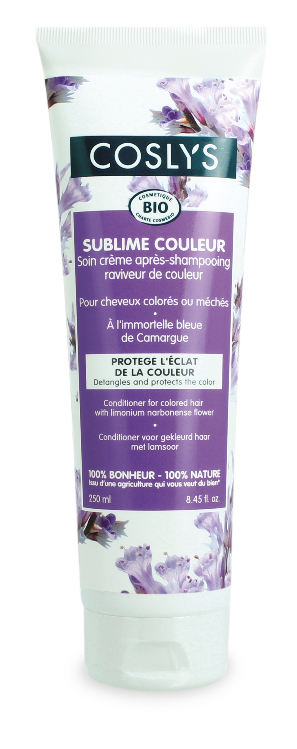 Coslys-Apres shampoing cheveux colores 250ml